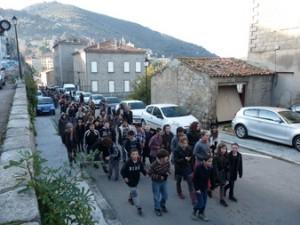 Tous les ans le soir du 30 novembre se déroule en Corse la fête de Sant'Andria